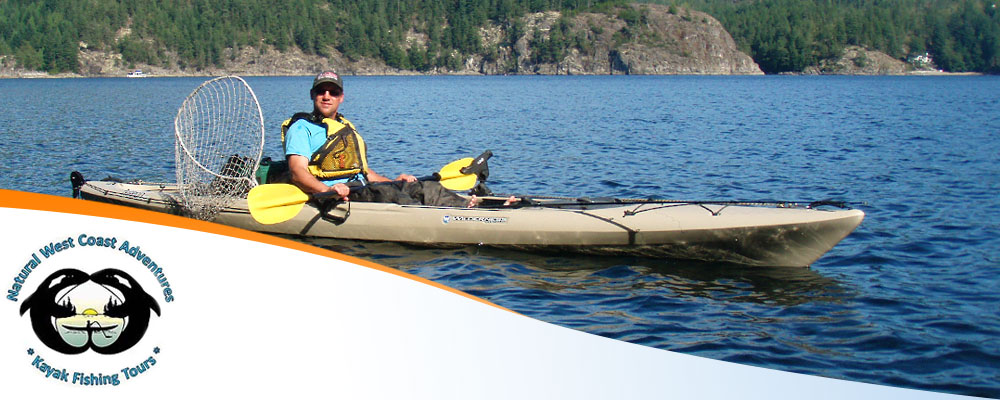 Photo of a kayak fisherman sitting in his kayak